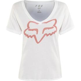 Fox Responded Rl V-Ausschnitt SS T-Shirt Damen white
